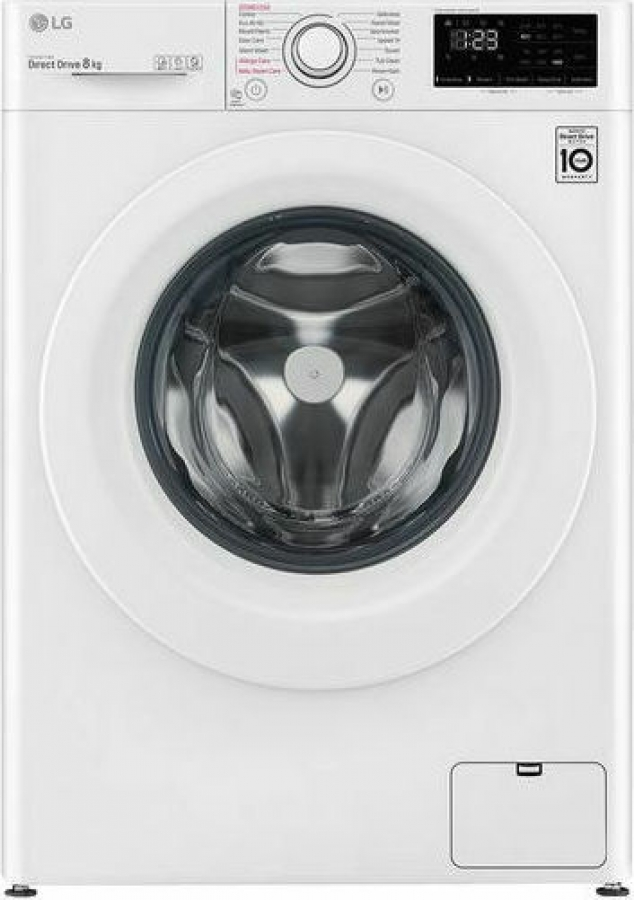 LG F4WV308S3E Πλυντήρια ρούχων 8Kg - A+++ -40% -ΑΤΜΟΥ. /1400 Rpm.