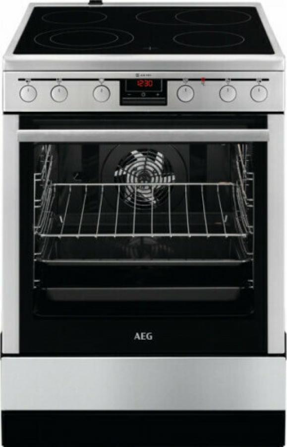 AEG CCB6642BBM Ηλεκτρικές κουζίνες Κεραμική 73Lt. INOX