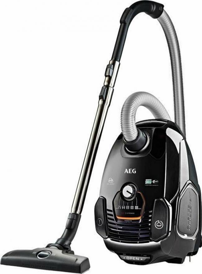 AEG VX7-2-EB-P Σκούπα Black