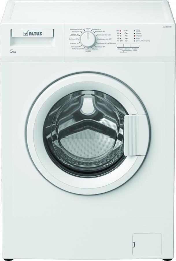ALX 5011 W Πλυντήριο Ρούχων 5Kg,  A++, 1000 Στροφες.