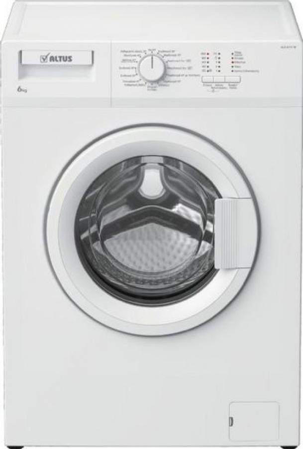 ALX 6111W Πλυντήριο Ρούχων 6Kg,A+++, 1000 Στροφ,.