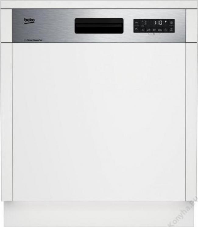 BEKO DSN 26420 XN Πλυντ. πιάτων Inox Εντοιχ/μενο 60cm. A++