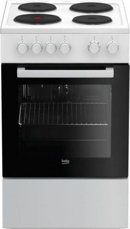 BEKO FSE 56000 GW Ηλεκτρικές κουζίνες White
