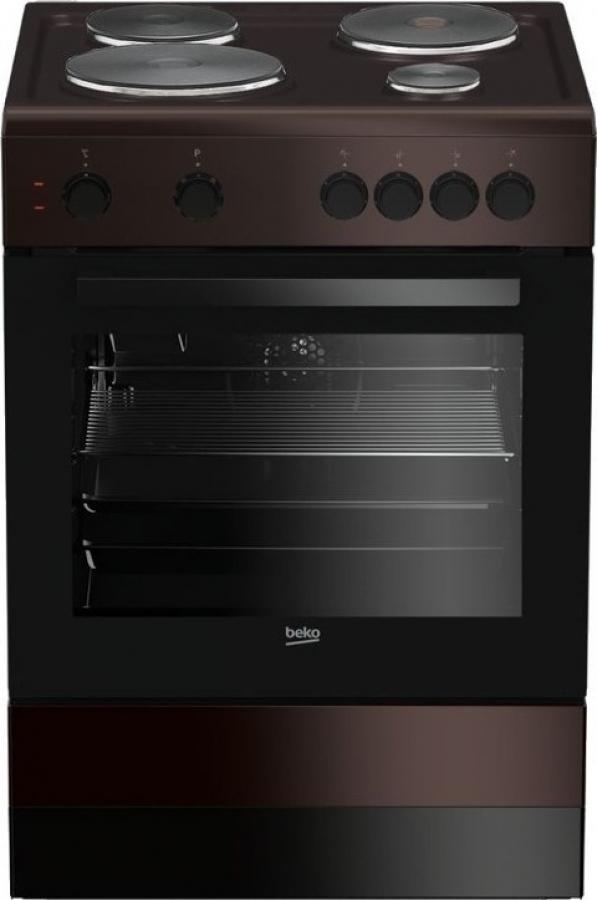 BEKO FSM 66001 GBR Ηλεκτρικές κουζίνες Brown