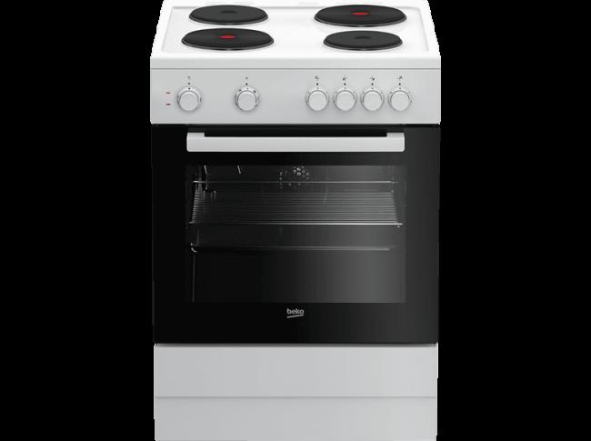 BEKO FSM 66002 GW Ηλεκτρικές κουζίνες
