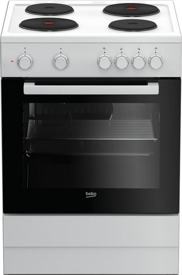 BEKO FSS 66003 GW Ηλεκτρικές κουζίνες White