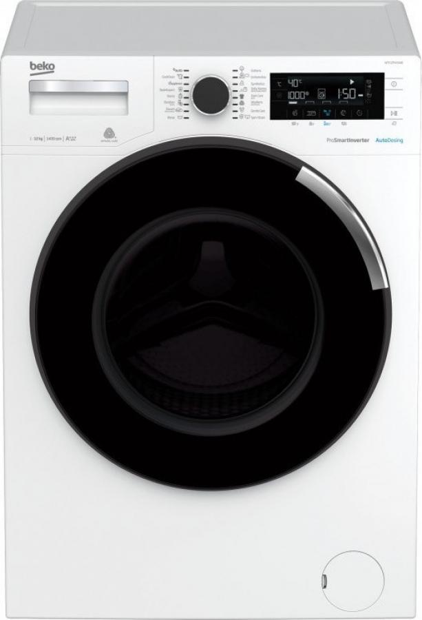 BEKO WTE 12744 XWD Πλυντήρια 12kg A+++ 1400Στροφες.