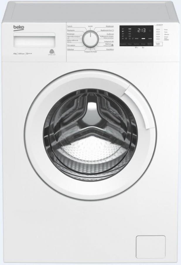 BEKO WTV 8512 BO Πλυντήρια ρούχων 8KG.A+++