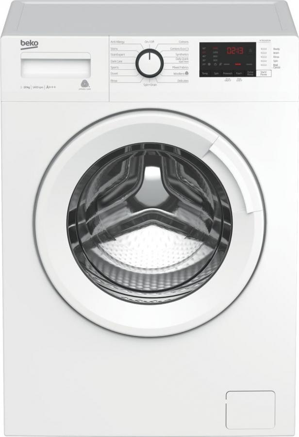BEKO WTX 101232 WI Πλυντήρια A+++ 10Kg. 1200Στρ.