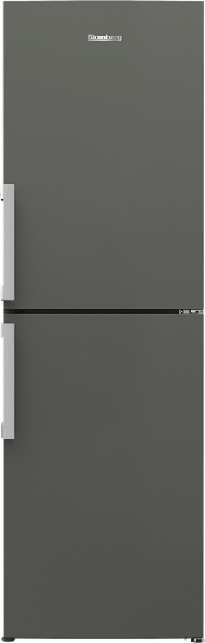 BLOMBERG KGM 4663 G Ψυγειο/ψύκτης ΑΝΘΡΑΚΙ ( 191 X 59,5 X65,5cm)
