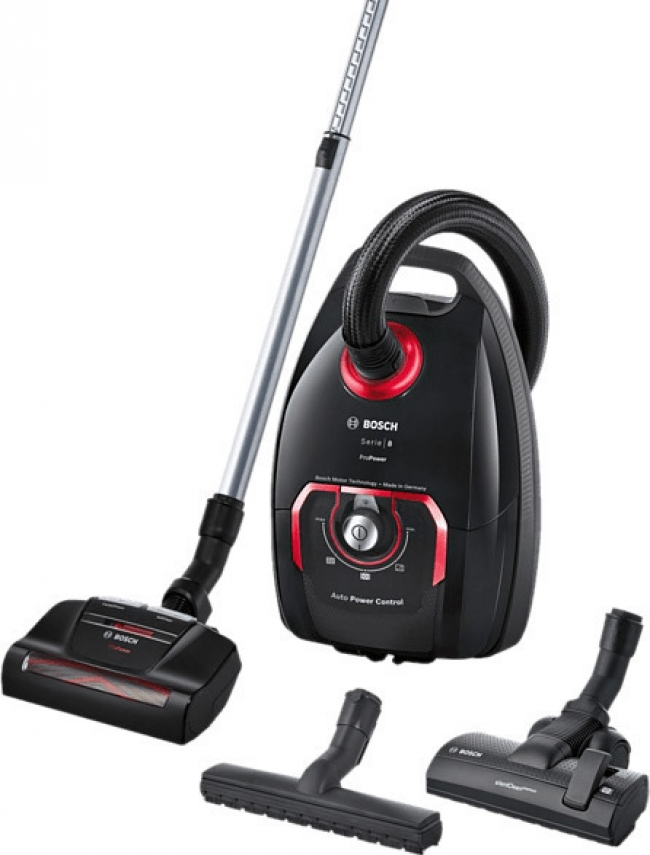 BOSCH BGL8POW2 Σκούπα Black/Red 5LT /650W.