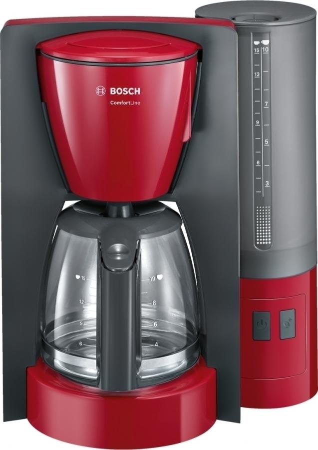BOSCH TKA6A044 Καφετιέρα φίλτρου/Γαλλικού Red 1200W.