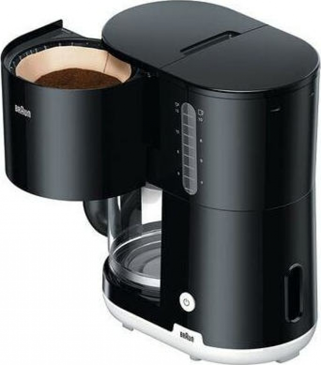 BRAUN KF1100BK Καφετιέρα φίλτρου/Γαλλικού