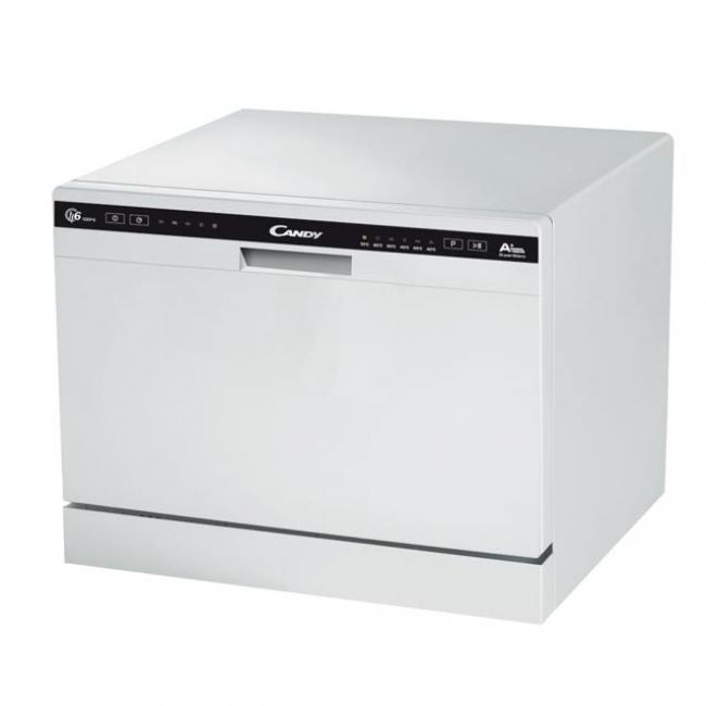 CANDY CDCP 6/E-S Πλυντήριο πιάτων Silver