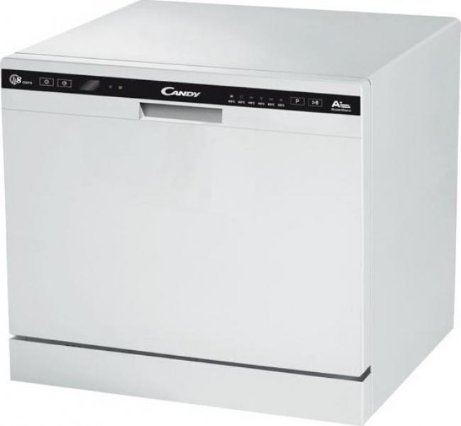 CANDY CDCP 8/E Πλυντήριο πιάτων White A+, 8 ΣΕΡΒΙΤΣΙΑ.