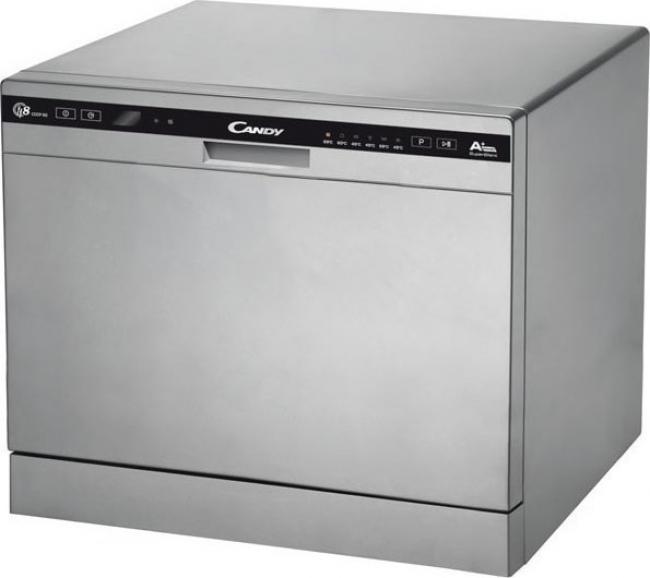 CANDY CDCP 8/E-S Πλυντήριο πιάτων Silver