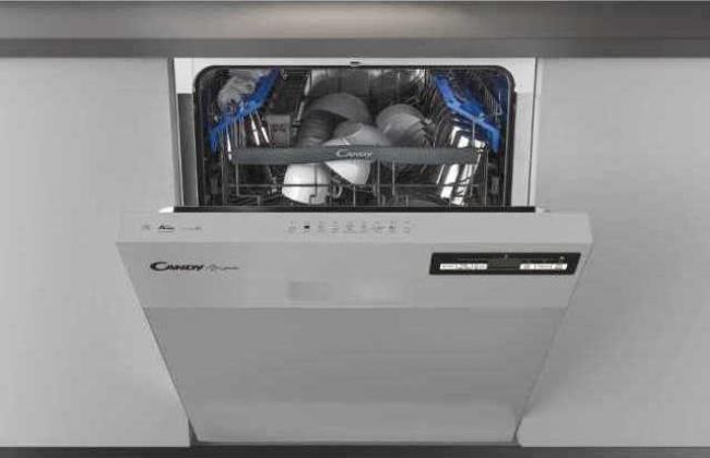 CANDY CDSN 2D520PX Πλυντ. πιάτων (A++ 60cm INOX)
