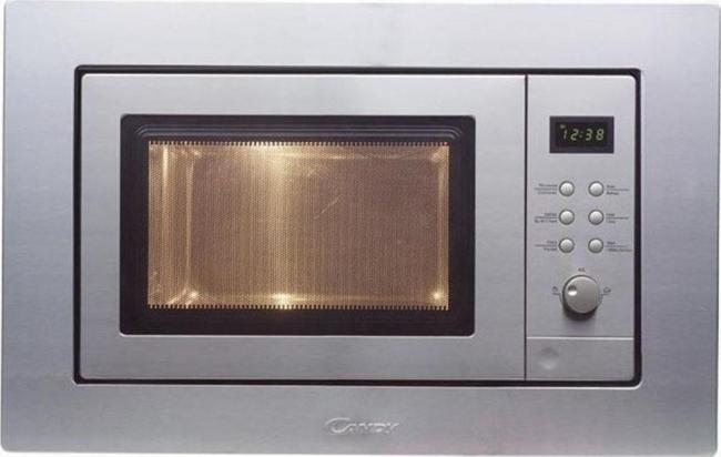CANDY MIC201EX Φούρνος μικροκ. Εντοιχ. Inox 20Lt-800W.
