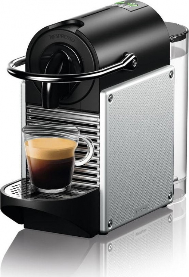 DELONGHI EN124.S PIXIE ( NESPRESSO ) Μηχανές Espresso Silver ΔΩΡΟ ΚΑΨΟΥΛΕΣ ΑΞΙΑΣ 30€.
