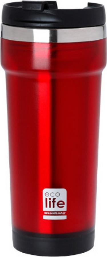 ECOLIFE 33-BO-4009 COFFEE THERMOS RED 420ML