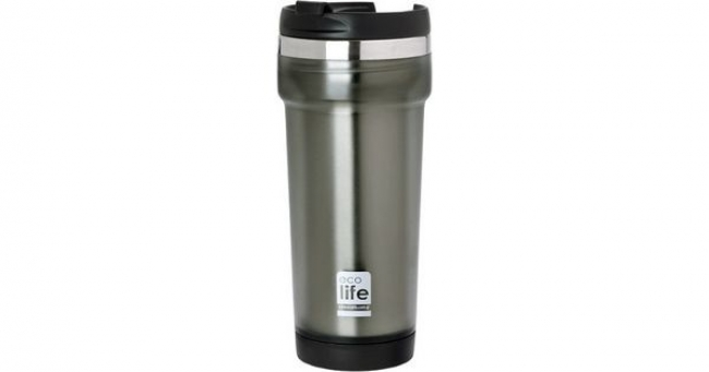 ECOLIFE 33BO4010 COFFE THERMOS MUG PLAST GREY 420ML