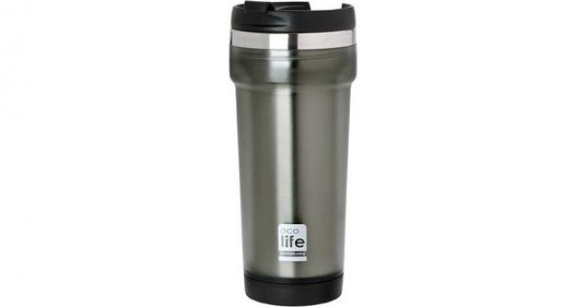ECOLIFE 33BO4010 COFFE THERMOS MUG PLAST GREY 420ML