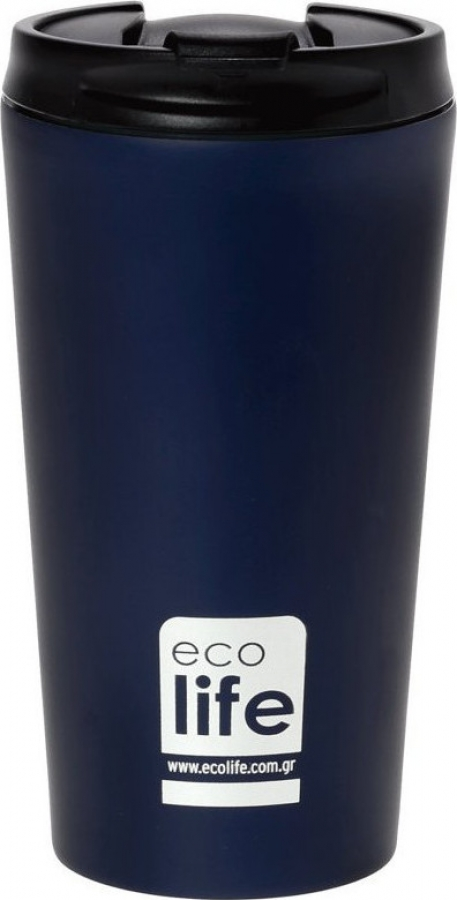 ECOLIFE 33BO4016 COFFEE THERMOS BLUE BLACK 370ML