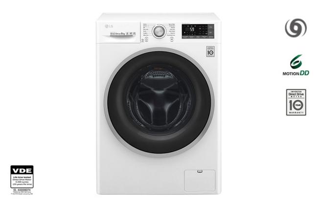 F4J7TN1W 8KG Πλυντήριο Ρούχων