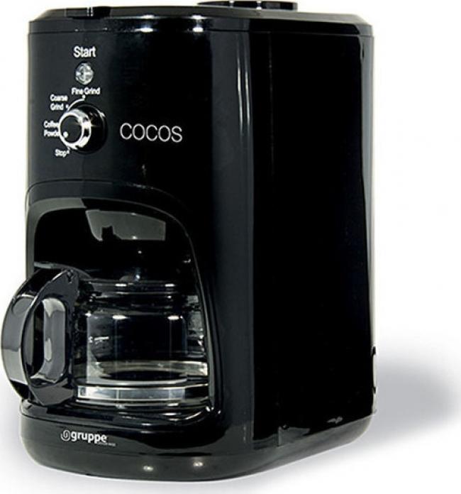 GRUPPE CM1061A-CB Καφετιέρα φίλτρου/Γαλλικού Black