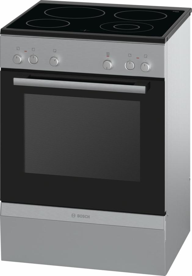 HCA723250G Κεραμική Κουζίνα Inox