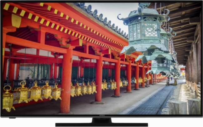 HITACHI 50HAK6151 UHD ANDROID Τηλεόραση Black