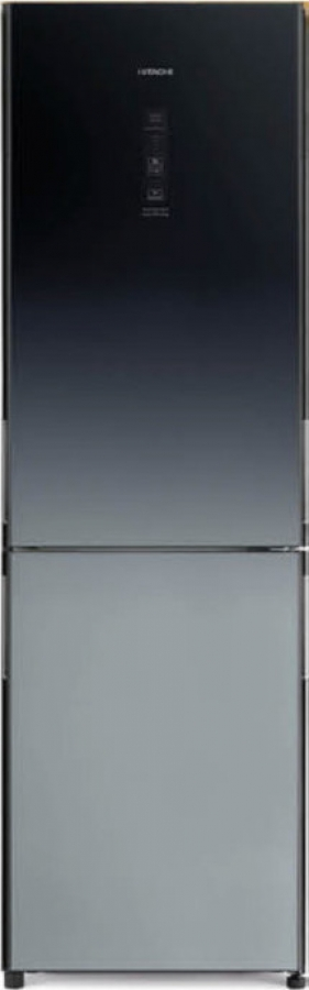 HITACHI R-BG410PRU6X (XGR) Ψυγειοκαταψύκτης Inox Glass
