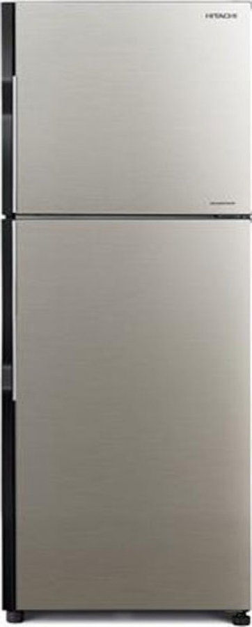 HITACHI R-V400PRU8 (BSL) Ψυγεία Brilliant Silver NoFrost A+ 375Lt.