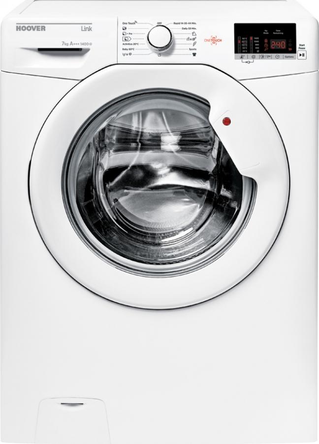 HOOVER HL4 1472D3/1-S Πλυντήρια ρούχων -Slim 40cm=Βάθος- 7KG, A+++.