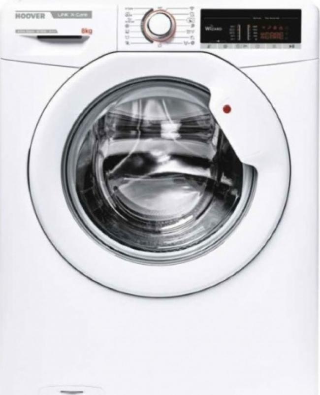 HOOVER HSX 1485T3-S 8KG Πλυντήρια A+++ /1500Rpm. ΑΤΜΟΥ.-WiFi.