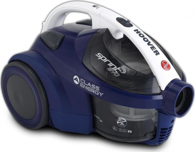 HOOVER SE71 SE61011 Σκούπα Blue 700W ΜΕ ΚΑΔΟ 1,5Lt +ΠΕΛΜΑ PET.