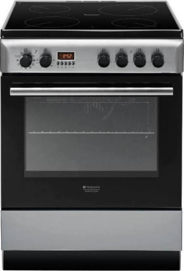 HOTPOINT ARISTON H6VMH6A(X)/GR Ηλεκτρικές κουζίνες Inox