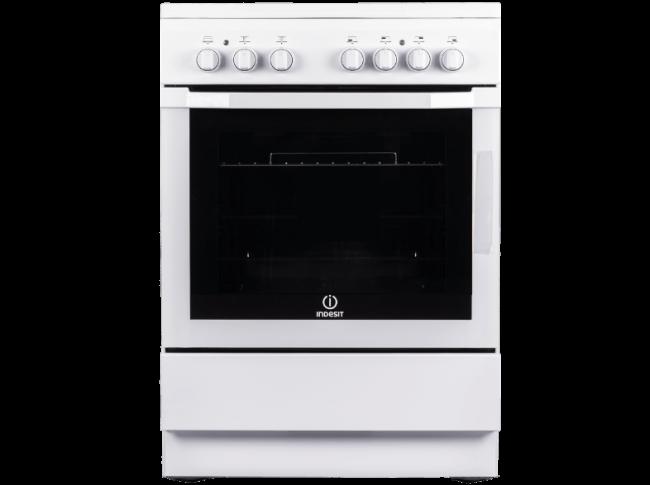 I6VMH2A(W)/GR Κεραμική Κουζίνα Λευκή