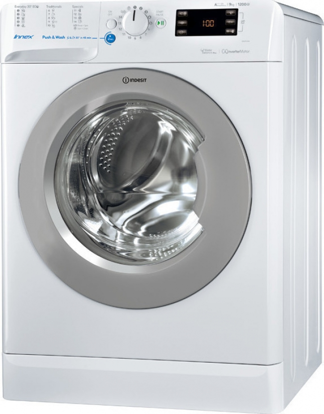 INDESIT BWE 91284X WSSS Πλυντήρια ρούχων White