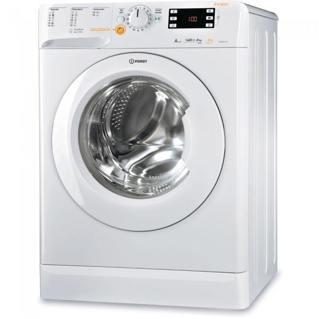 INDESIT XWDE 861480X W EU Πλυντήρια-Στεγνωτήρια White