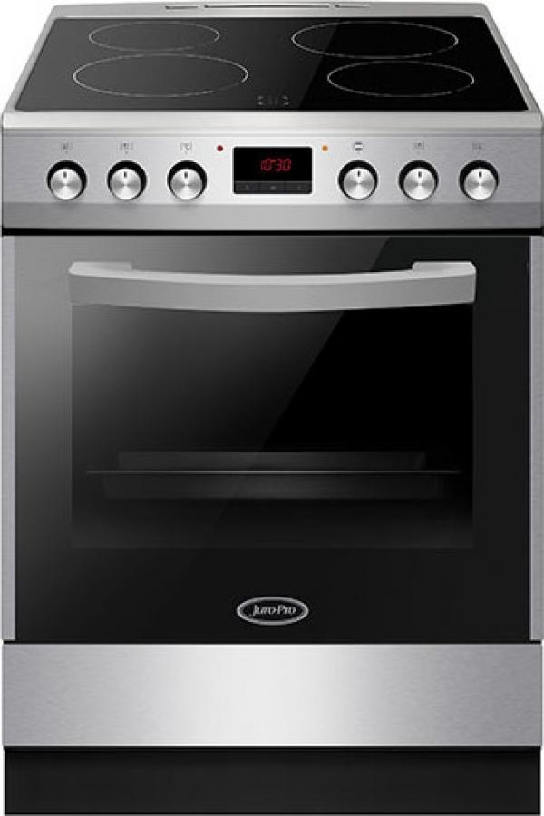 JURO PRO 7211SP ΚΕΡΑΜΙΚΗ 75l Ηλεκτρικές κουζίνες Inox
