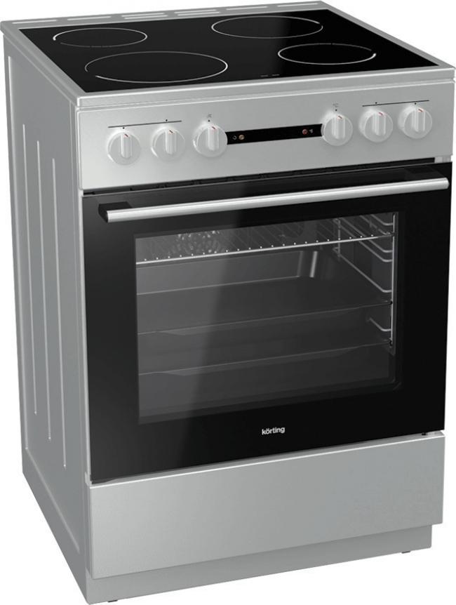 KORTING KEC6141IS (729337) Ηλεκτρικές κουζίνες Inox