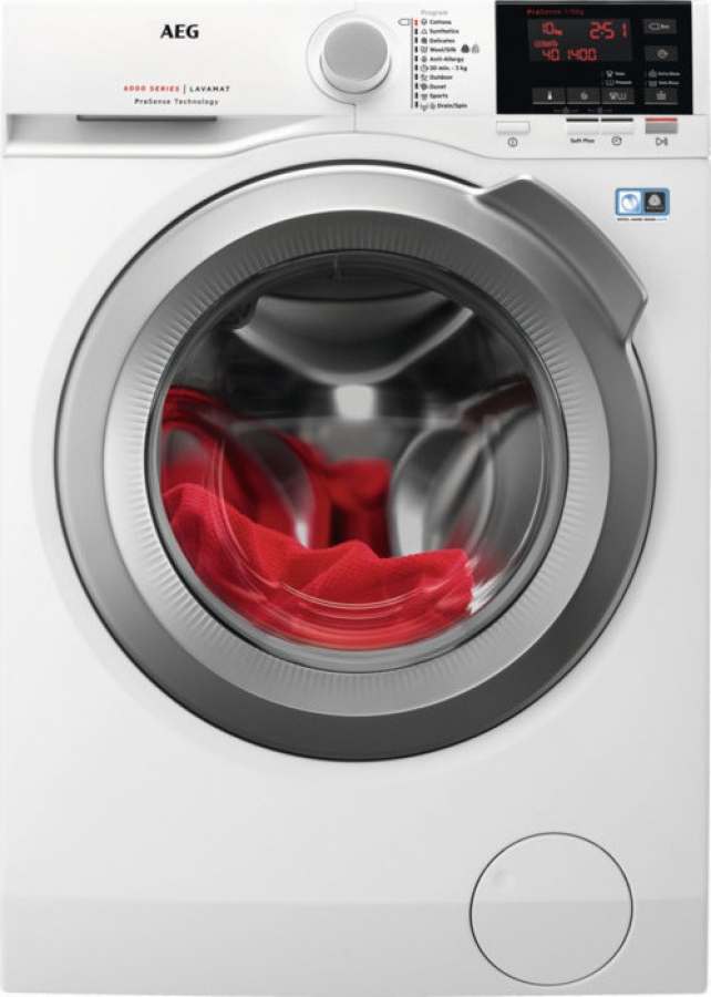 L6FBG41S 10KG , A+++ Πλυντήριο Ρούχων