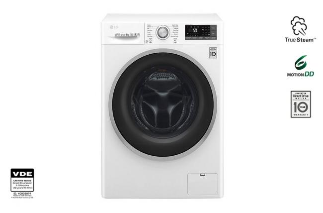 LG F4J7VN1W Πλυντήρια ρούχων White/Inox * 10 ΑΤΟΚΕΣ