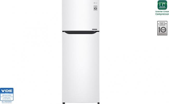 LG GTB382SHCZD Ψυγείο Δίπορτο No Frost A++.