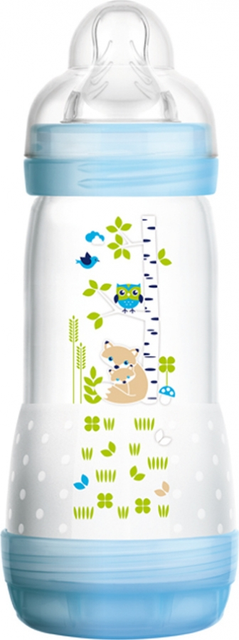 MAM EASY START ANTI-COLIC 260ml ΜΠΙΜΠΕΡΟ 2+ ΜΠΛΕ (351S)