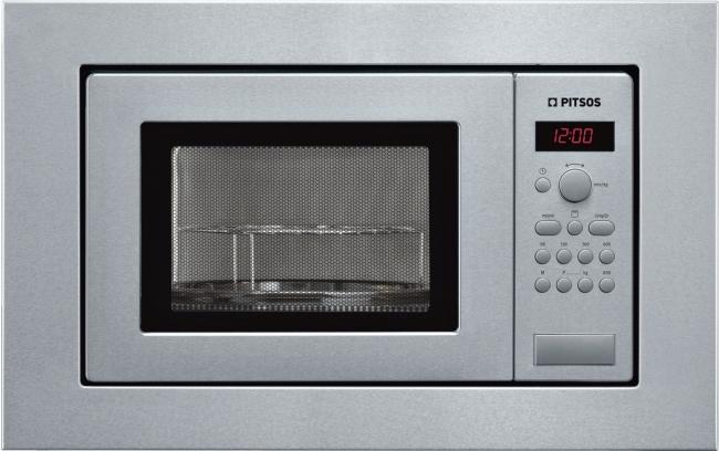 P1MCB2405B Εντοιχιζόμενος Inox 800W