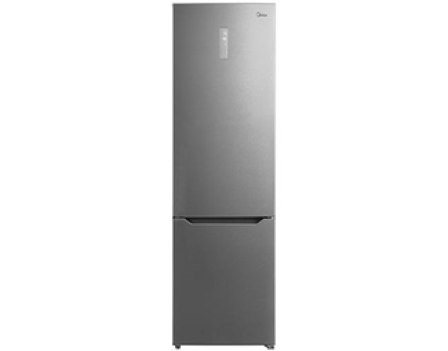 MIDEA MB468A2 Ψυγειο/ψύκτης INOX NoFrost A++ (201 X59,5 X 64cm)