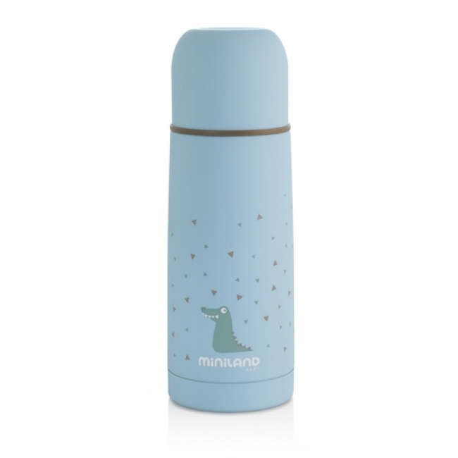 MINILAND SILKY THERMOS BLUE 350ML (ML89216)