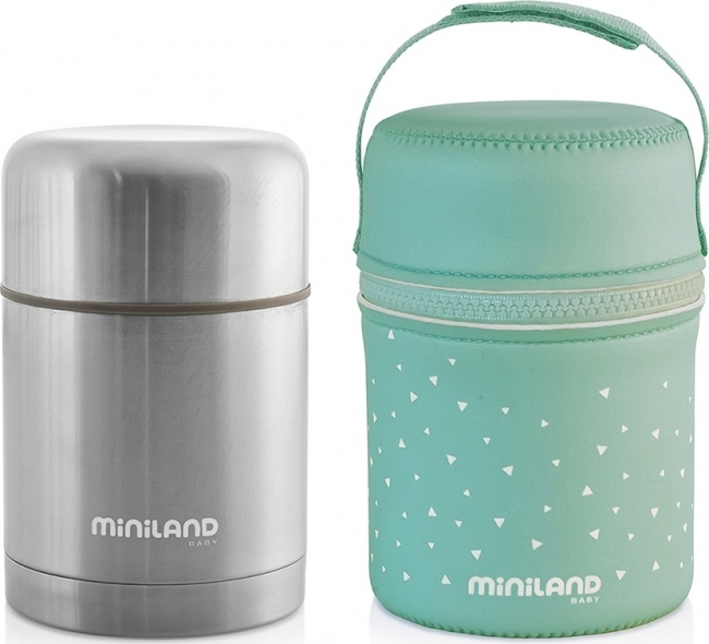 MINILAND STEEL THERMOS 600ML (ML89223) INOX
